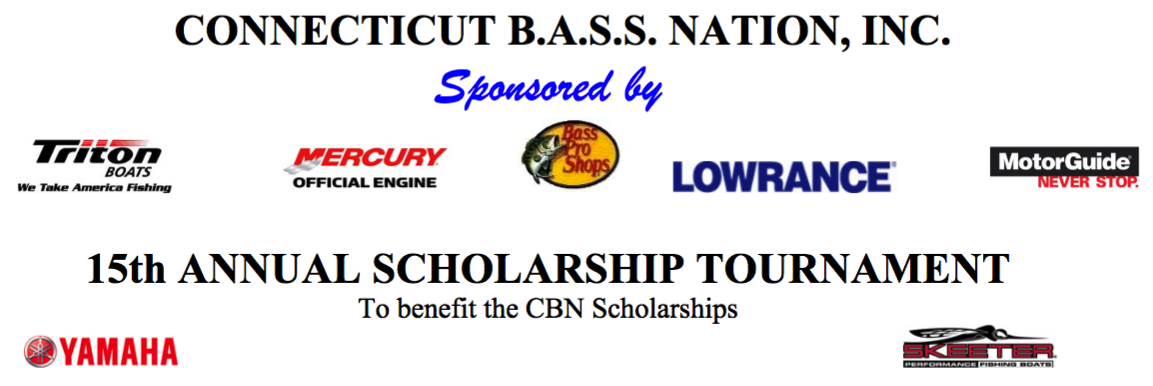 CTBASS – 15th ANNUAL SCHOLARSHIP TOURNAMENT