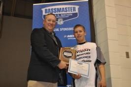 Winslow takes 2nd at final BASS JWC Championship!
