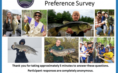 Survey to Take for the DEEP Fisheries Division and more Meeting Dates and instructions for Registration to Attend