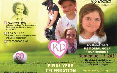 Katie Dobroczynski Memorial Golf Tournament, Sept 17, 2021